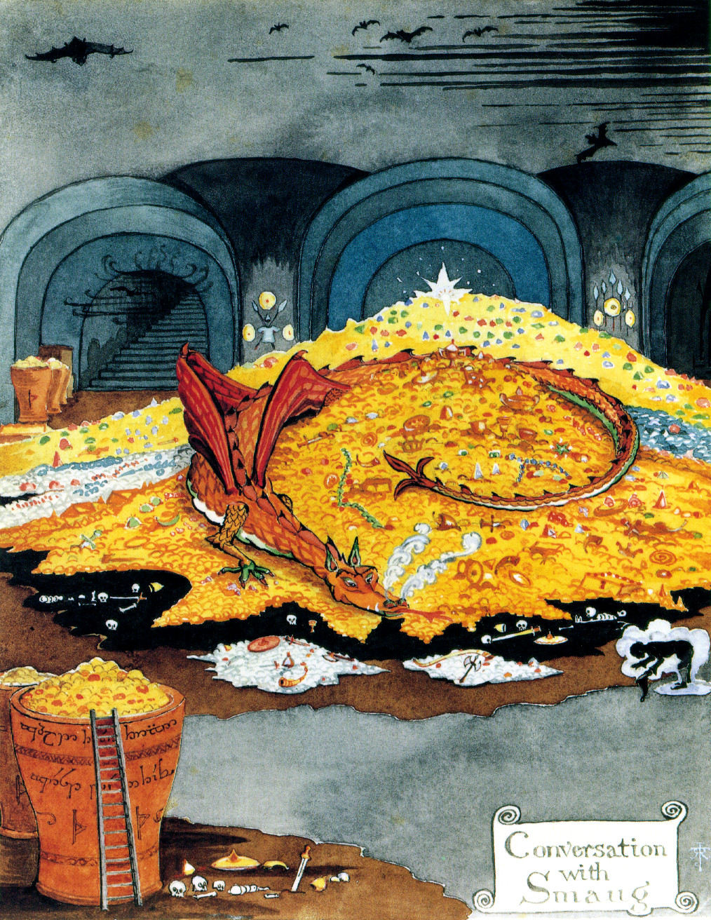 What does the dragon guarding the hoard of gold represent best steroid nasal spray for congestion