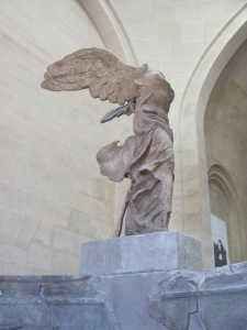 The Victory (or Nike) of Samothrace, Louvre (my pic)