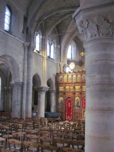 The Romanesque church of St-Julien-le-Pauvre, Paris (free)