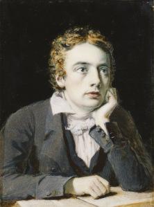 John Keats by Joseph Severn, 1819