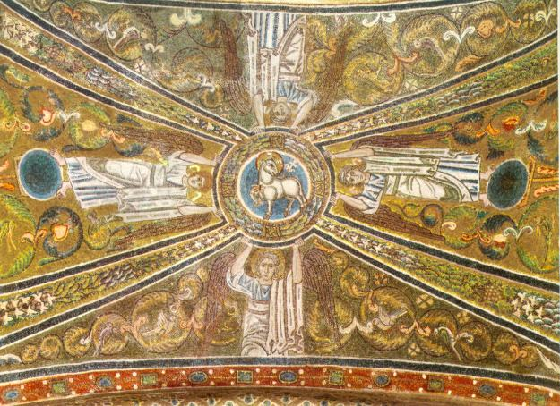 Mosaics from Santa Maria Assunta, island of Torcello, Venice