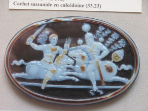 Persian cameo commemorating the defeat of the Emperor Valerian