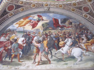 Leo and Attila by Raphael