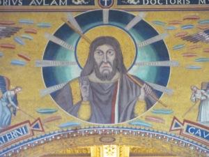 Fifth-century mosaic from San Paolo fuori le Mura, Rome