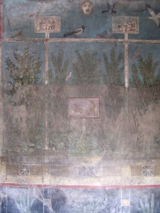 Fresco in Pompeii; makes me think of Paradise