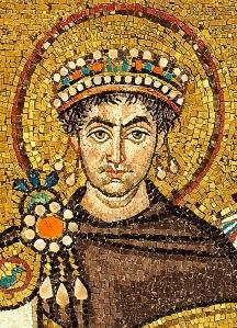 Mosaic of Justinian I (San Vitale, Ravenna)