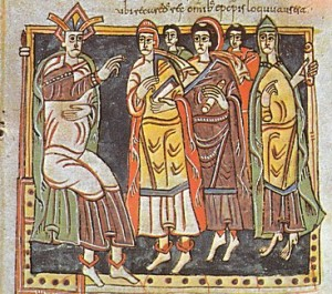 The Third Council of Toledo in Codex Vigilanus (10th-c, my favourite Spanish manuscript)